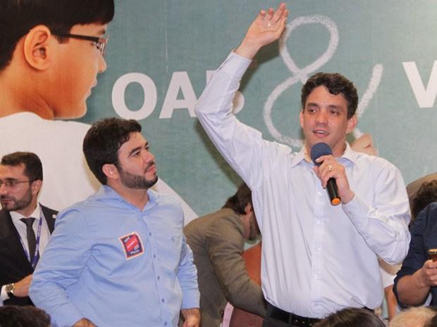 Thiago Diaz é eleito presidente da OAB no MA (Foto: Biaman Prado/O Estado)
