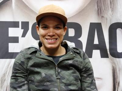 Amanda Nunes UFC 207 (Foto: Evelyn Rodrigues)