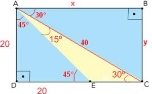 Resolução de matemática (Foto: Colégio Qi)