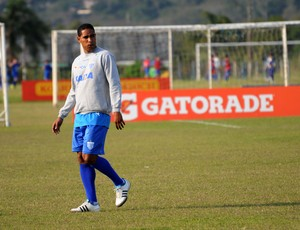 Cleber Santana, Avaí (Foto: Savio Hermano / GLOBOESPORTE.COM)