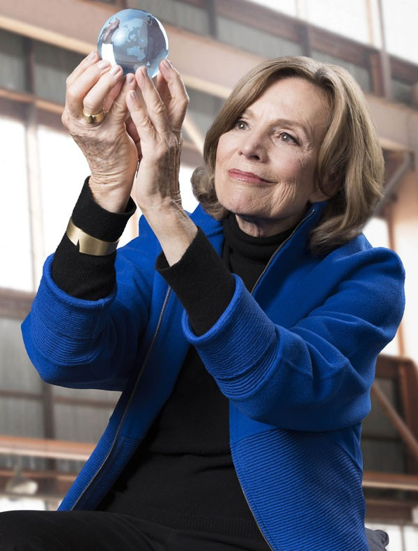 Sylvia Earle, oceanógrafa norte-americana  (Foto: Paulo Vitale)
