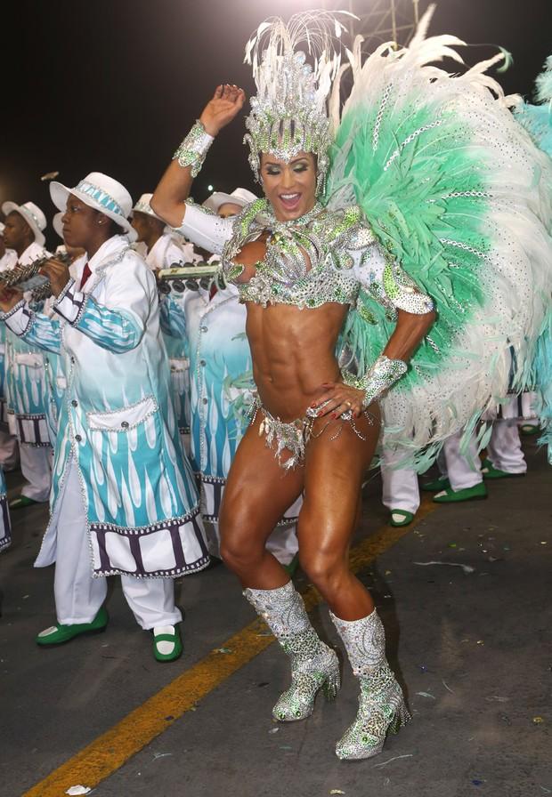 Gracyanne Barbosa - X-9 Paulistana (Foto: Iwi Onodera / EGO)