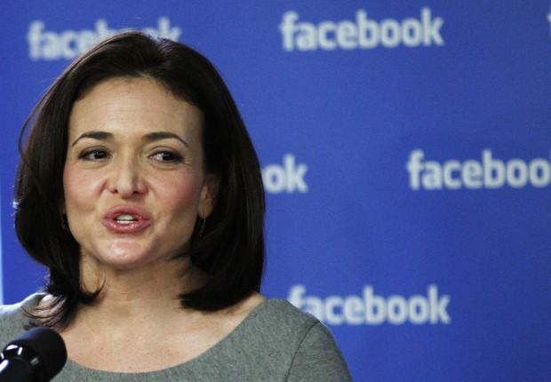 A COO do Facebook, Sheryl Sandberg (Foto: Eduardo Munoz/Reuters)