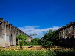 Universidade de Brasília - Brasília (DF) #Obras_Niemeyer (Foto: Marcelo Brandt/G1)