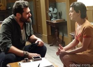 Será que Toni vai ceder ao apelo da ex? (Foto: Joia Rara/TV Globo)