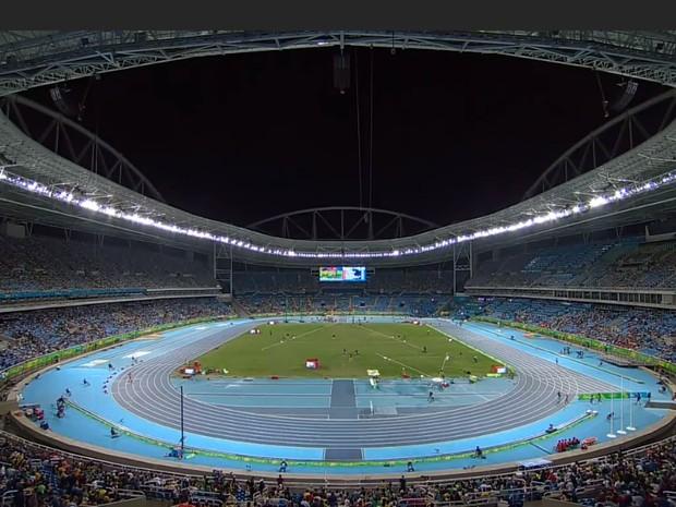engenhao; estadio; atletismo; olimpiada; jogos olimpicos; rio 2016 (Foto: Reprodução/GloboPay)