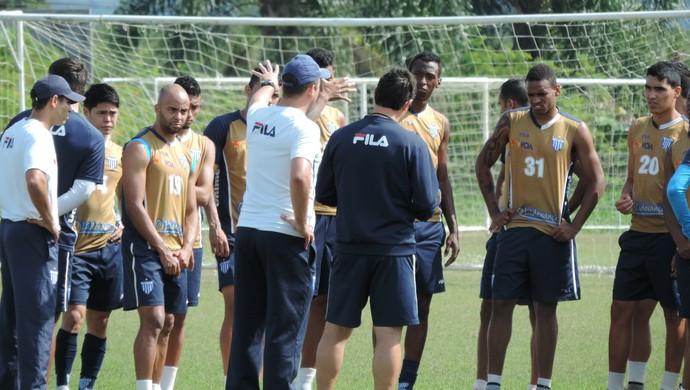 avaí treino raúl cabral (Foto: Diego Madruga)