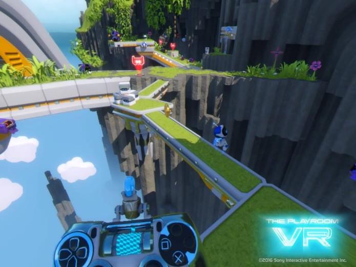 PlayRoom VR (Foto: Reprodução/Felipe Vinha)