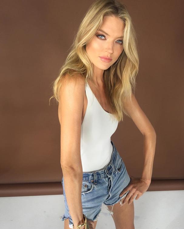 Martha Hunt em foto do seu próprio perfil (Foto: Reprodução/ Instagram)