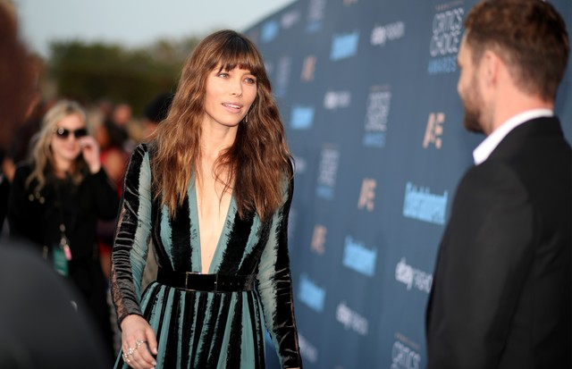 Jessica Biel e Justin Timberlake (Foto: Getty Images/Christopher Polk)