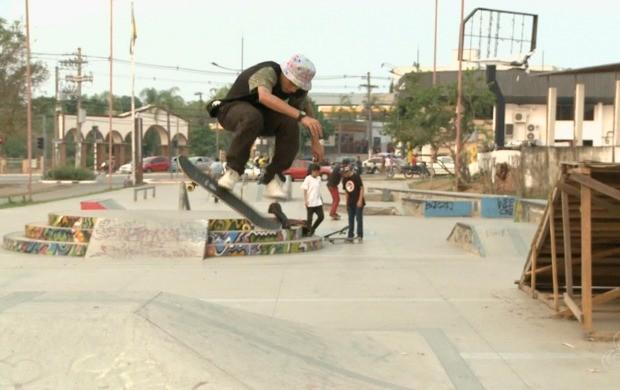 Acre Radical vai promover disputas no skate, BMX e patins in line no Skate Park, em Rio Branco (Foto: Globo Esporte Acre)