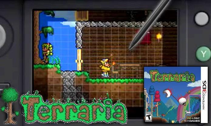 Terraria chega ao 3DS (Foto: Divulgação/Re-Logic)