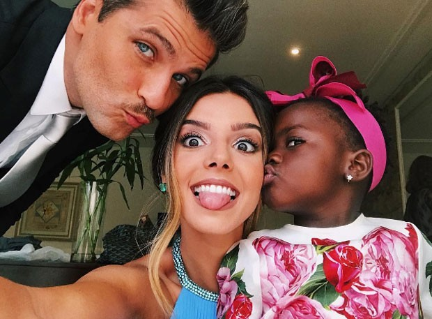 Bruno, Gioanna e Titi (Foto: Reprodução Instagram)