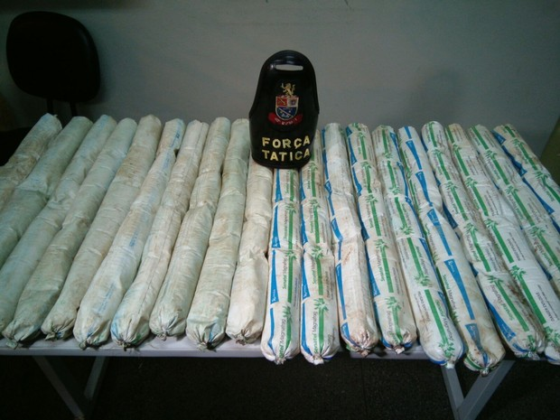 Força Tática apreendeu 45 quilos de explosivos em Votorantim (Foto: Jorge Silva / Gazeta de Votorantim)