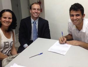 MARCOS FELIPE, FLUMINENSE contrato (Foto: Reprodução)