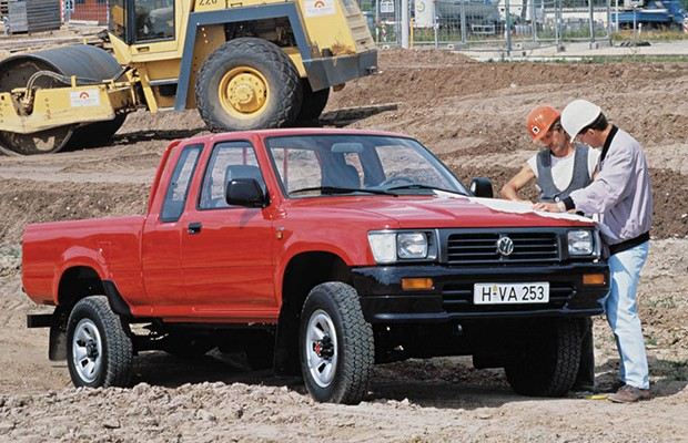 Volkswagen Taro foi feita entre 1989 e 1997 com base na Toyota Hilux (Foto: Divulgação)