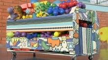 Guarde objetos na caixa organizadora (Reprodução/TV TEM)