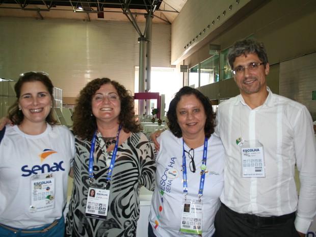 Clientes do serviço de restaurante (Foto: Thiago Rios Gomes)