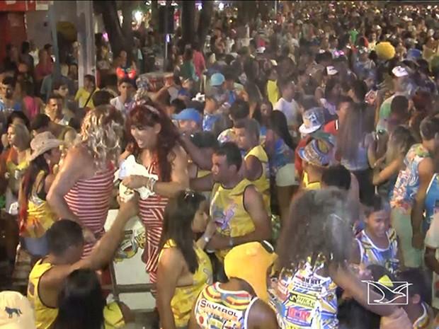 Neste ano, 15 blocos carnavalescos participaram do concurso para a escolha do melhor e mais animado (Foto: Reprodução/TV Mirante)