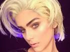 Isabella Santoni mostra foto vestida de Madonna para homenagear cantora