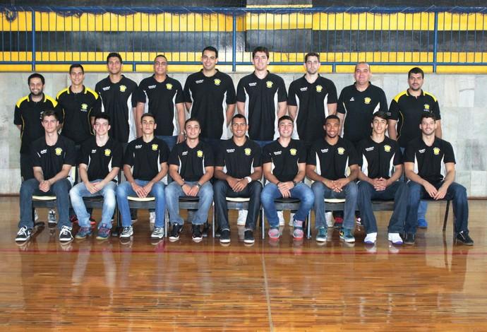 Equipe Unitri/Praia Clube que participará da LDB. (Foto: Assessoria de Comunicação do Praia Clube)