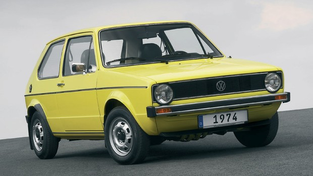 Veja fotos históricas do Volkswagen Golf