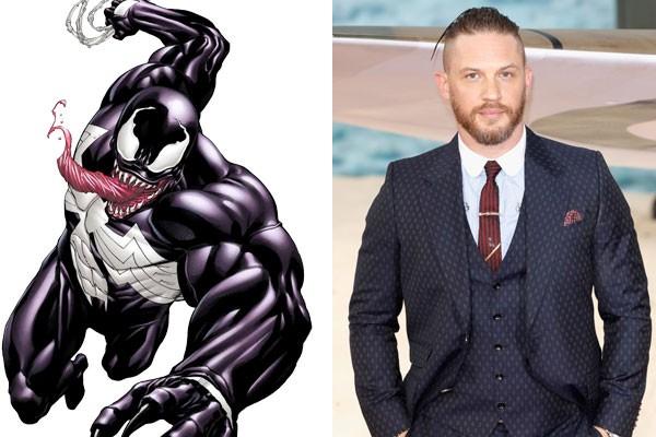 O vilão Venom será vivido por Tom Hardy em derivado de Homem-Aranha (Foto: Reprodução/Getty Images)