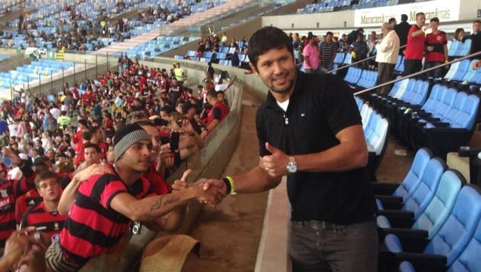 Fabio Luciano Flamengo x Goiás (Foto: Master Sports & Mkt)