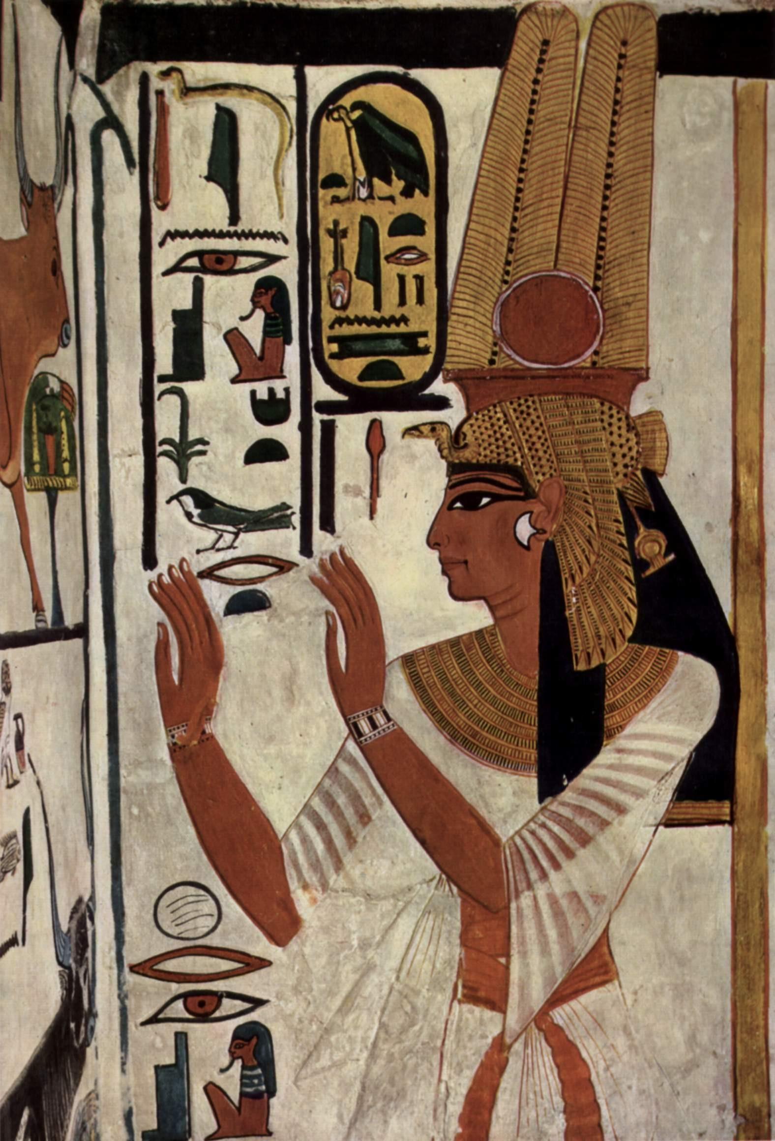 (Foto: Wikimedia/Maler der Grabkammer der Nefertari )