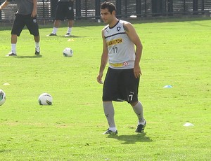 Treino do Botafogo, Herrera (Foto: Thales Soares / Globoesporte.com)