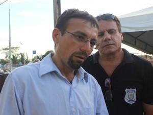 Vilobaldo Carvalho, presidente do Sinpouljuspi  (Foto: Ellyo Teixeira/G1)