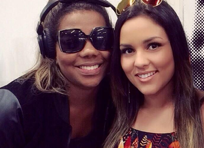 Em um aeroporto, Mali encontrou Ludmilla e registrou a imagem (Foto: Arquivo pessoal)