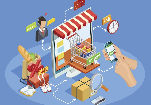 e-commerce, ecommerce, comércio eletrônico, consumo na internet, compras (Foto: Thinkstock)