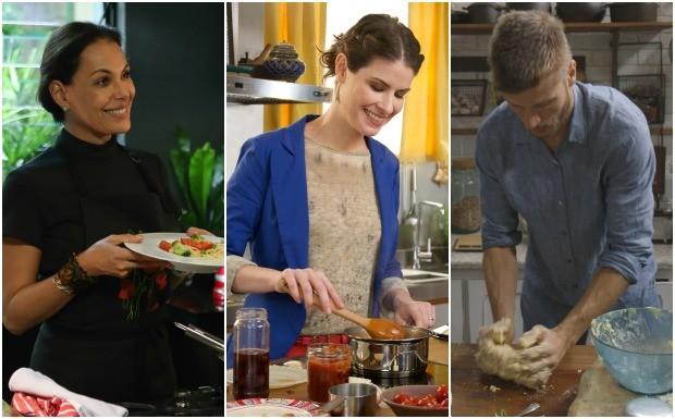 Dia Mundial da Massa - chefs do GNT (Foto: Reproduo / GNT)