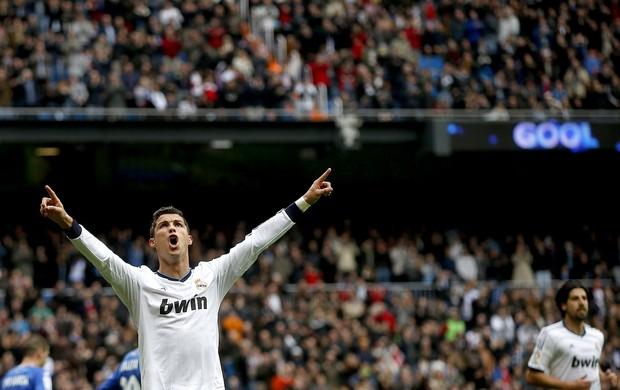 Cristiano ronaldo real madri gol getafe (Foto: Agência Reuters)