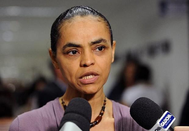 Marina Silva, da Rede, que foi candidata à presidência na chapa de Eduardo Campos (Foto: Fabio Rodrigues Pozzebom/Agência Brasil)