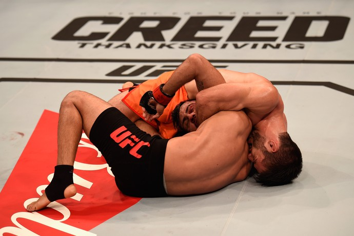 Bruno Korea Matheus Nicolau UFC São Paulo MMA (Foto: Getty Images)