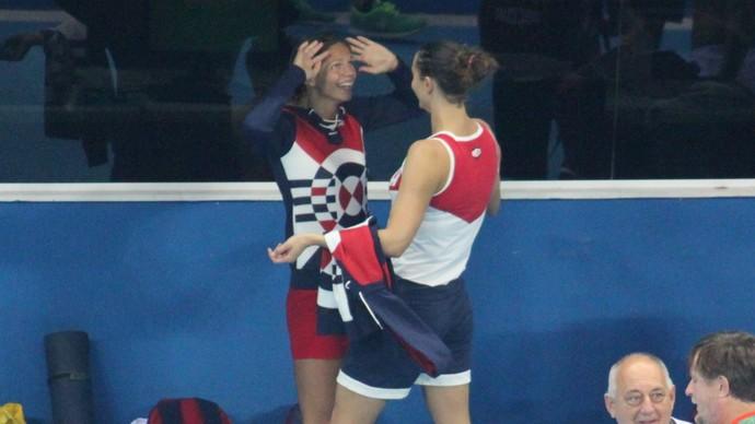 Russa Yulia Efimova no Estádio Aquático (Foto: GloboEsporte.com)