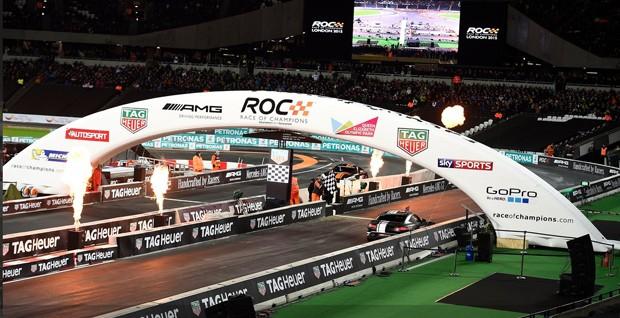 Cenário do evento, loucura pura! Público junto com os pilotos...emais!! (Foto: Divulgação/ROC)
