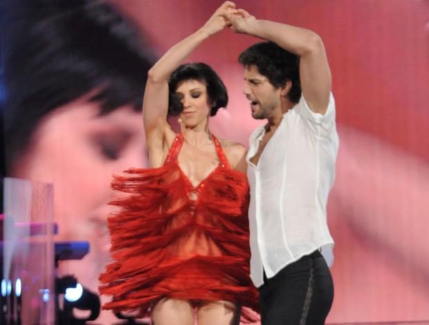 Bruno Cabrerizo na dança dos famosos italiana (Foto: Sebastiano Stringola/Divulgação)