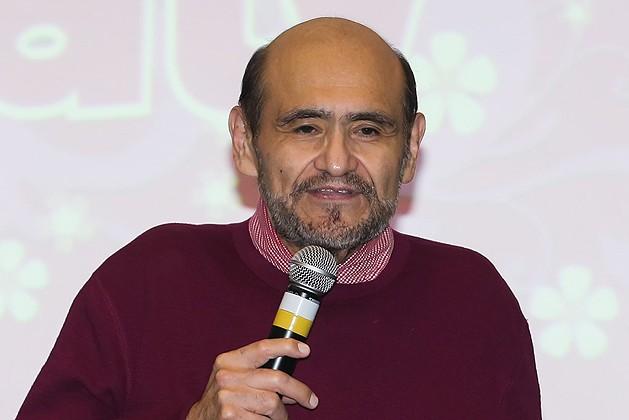 O ator Edgar Vivar, intérprete do personagem Seu Barriga, em São Paulo (Foto: Manuela Scarpa/Brazil News)