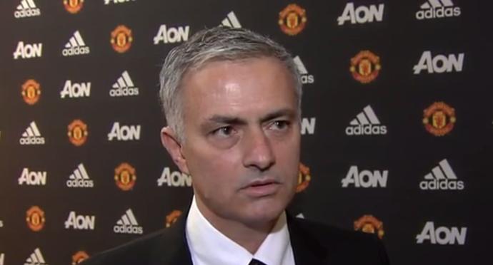 José Mourinho (Foto: Reprodução/Manchester United)