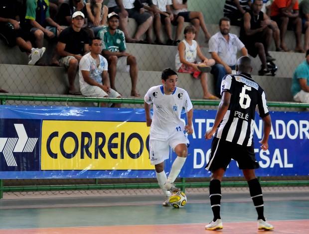 Liga Sudeste de Fusal 2012: Minas T. C x Macaé/Botafogo (Foto: Luciano Bergamaschi/CBFS)