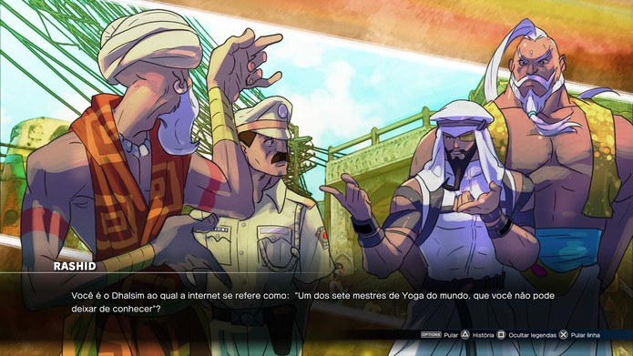 Desenhos de Bengus roubam a cena no modo história de Street Fighter 5 (Foto: Reprodução/Caio Fagundes)
