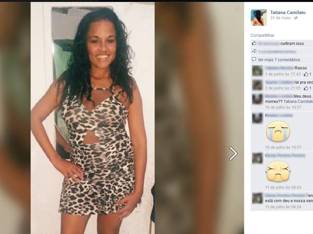 Tatiana Camilato tinha 31 anos e deixa três filhos (Foto: Reprodução/Facebook)
