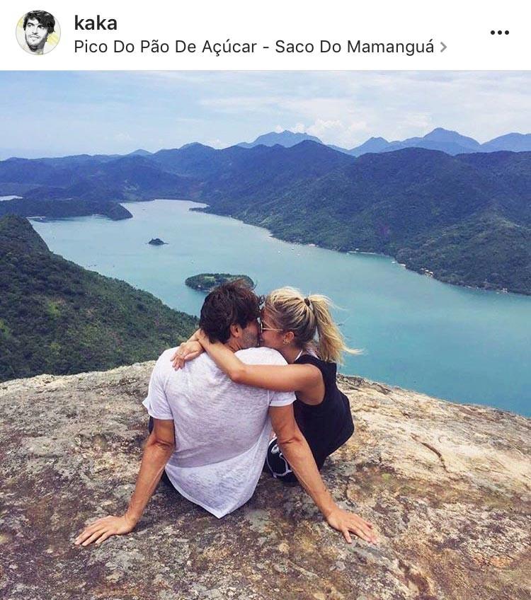 O post de Kaká (Foto: Reprodução/Instagram)