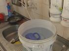 No AP, moradores reclamam de interrupção de água há três meses