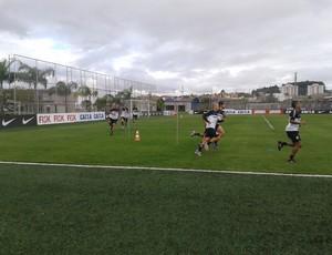 Treino do Corinthians (Foto: Rodrigo Faber)