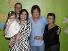 Dudu Braga, filho de Roberto Carlos, comemora 1 ano da filha, Laura, em SP