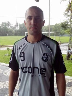 Chico, goleiro do Rio Branco-ES (Foto: Deysiane Gagno/Rio Branco AC)